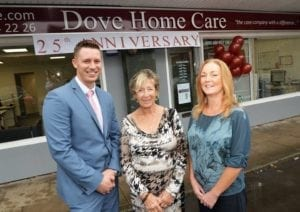 Dove Home care, Live In care