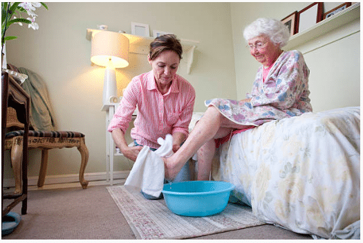 Managing your live in care with Dove Home Care